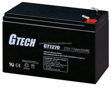 Top Performance 12V 7AH Sealed Lead Acid Battery/ Rechargeable Sealed Lead Acid Container