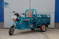 2015 new type flowrld series battery tricycle loader,electric rickshaw,