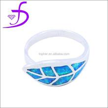 opal sea water silver animal jewelry sea wild ring