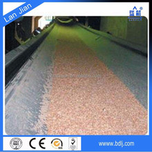 China manufacturers ISO standard ep canvas asseble line oil resistant conveyor belt for manure