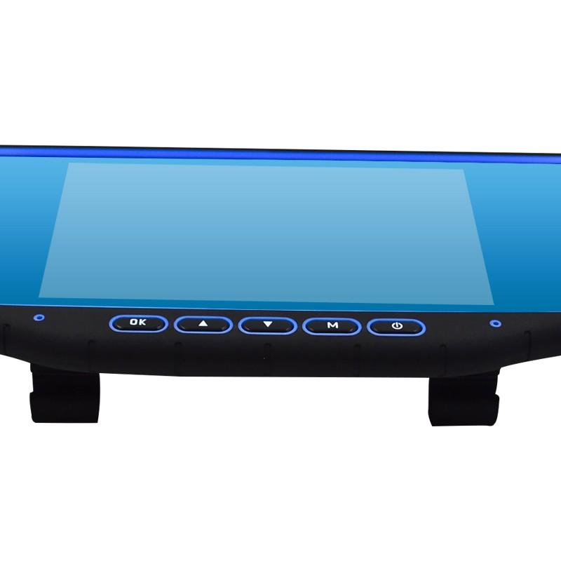 Nouveau gros Multifuntional détecteur de Radar HD 720 P DVR vue arrière miroir