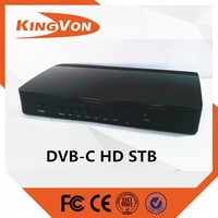 cable system digital tv converter HD set top box with good price and quality