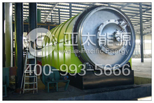 Convert used tyre to fuel oil recycling plant from China
