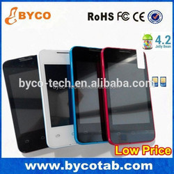 factory direct china 3.5inch android smartphone dual core android 4.2 cell phone