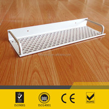 Aluminum wall installation of high-grade bathroom / kitchen single shelf