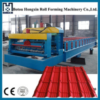 Glazed Tile Roll Forming Machine Roof Tile Making Machine Price