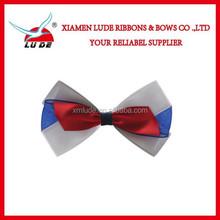 Christmas Holiday use satin ribbon bow white