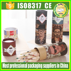 paper custom made pencil packing paper tube