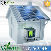 Commercial 1kw portable solar power system