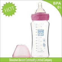 Atacado 8 oz wide neck alimentação garrafa de leite do bebê barato bebês reborn