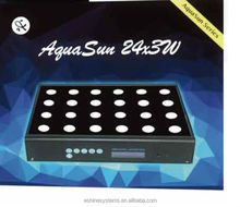"Eshine AquaSun LED aquarium light 24"" Timer Aquarium Light Freshwater 24x3W Tropical Fish 60cm"