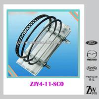 Mazda parts STD Piston ring set & Piston Ring OEM ZJY4-11-SC0 For Mazda2/M2 1.3