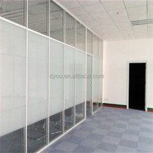 Latest design durable aluminum office partition door