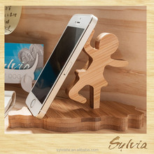 2015 Taiwan manufacture new design wooden bath tub cell mobile phone holder