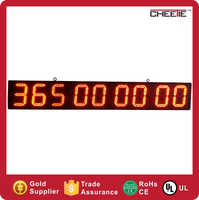 Outdoor 6 Inch LED Digital Display Outdoor LED Countdown Clock