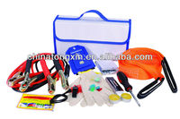 roadside car emergency kit.auto safety kit with metal shover for winter
