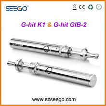 2014 new Seego G-hit K1+GIB-2 battery rechargeable electronic cigarette jakarta
