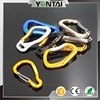 High quality cheap heavy duty side release buckle hanging hooks hiking carabiner