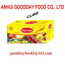 crevette flavour soup bouillon cube/soft cube/broth cube packed in 10g x 60cube x 24boxes/ctn hot selling in africa