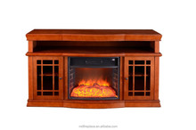 indoor used electric fireplace TV lift