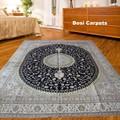 9'x12' اليد-- الحرير معقود تركيا السجاد تصنيع التصميم الكلاسيكي التقليدي
