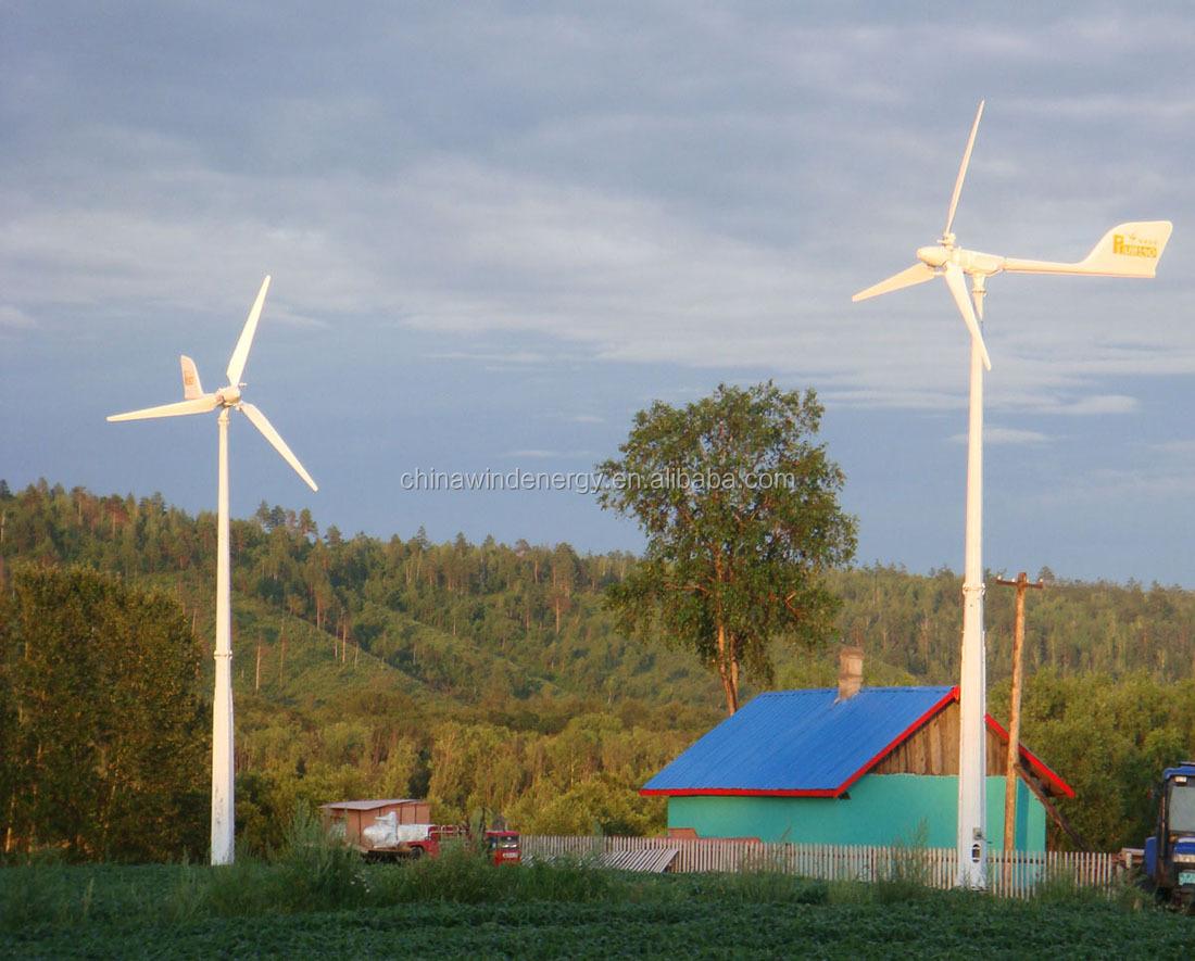 5kw small wind turbine free energy generator high efficiency off grid ...