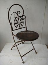 Trustworthy China supplier metal outdoor furniture chairs