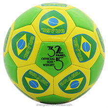 stocking a lot 2014 new design brasil promotion soccer ball