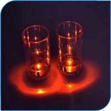 Parti Bar Club Led Light Up dur en plastique verre de vin