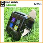 2015 nova saudável cuidados relógio inteligente mapan mw01 blueooth android à prova d ' água inteligente finess assistir atacado