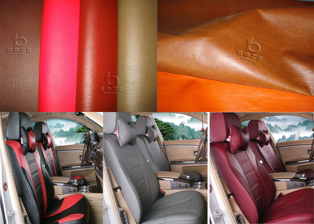 Popular pu synthesis Leather for car cover seat