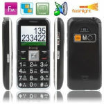 Wholesale price Elders Super Simple GSM Unlocked Mobile Phone, Dual sim cards Dual standby, Support FM radio, LED Flashlight, SO