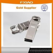 Plastic with Aluminum edge Swivel USB sticks with free logo trade assurance