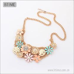 Flower Statement Necklace 2013 shourouk China Wholesale