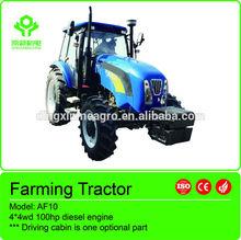 la agricultura de la máquina ce af10 100hp tractor