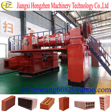 Hot sale ! China full automotic clay brick making machinery clay brick making machine