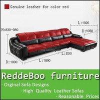 modern italy leather formal furniture sofa sets