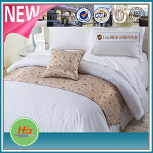 The Latest Design China Supplier 1 cm Satin Stripe Bed Sheets For Luxury Hotel