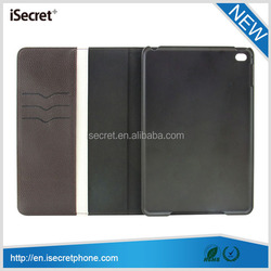 New belt clip leather case for ipad mini 4 with card slot