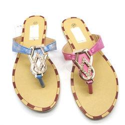PU material ladies massage eva slippers