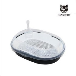 Wholesale pet cleaning product cat litter toilet with scoop