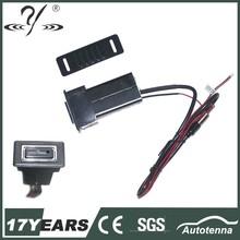 siyah yüksek performans araç radyo anteni güçlendirici