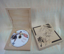 Customized OEM/ODM wood CD/DVD/VED Case