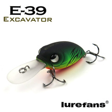 Lurefans 39mm/4.8g Hight Quality floating fishing crankbait lure swimbait crank bait, isca artificial pesca lures free shipping