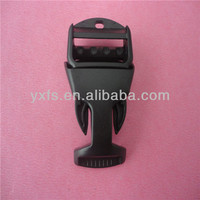 New product specail shape plastic strap buckle/side release buckle
