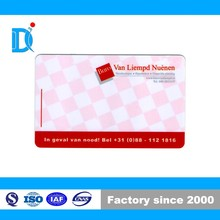 Customized Logo printed Glossy PVC business cards