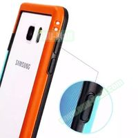 Fashionable Protective Soft TPU+PC Bumper Frame Case Cover for Samsung Galaxy Note 5