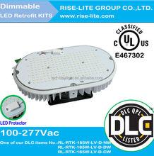 Led Shoe box Light 500W halogen replacement, UL DLC led retrofit kit 185w