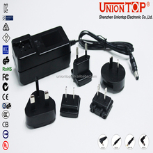 convertable plug led power supply 12v 24v 48v switching power adapter