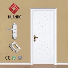 wholesale new design pvc mdf door bathroom doors for hotel